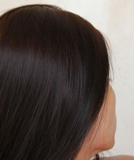 Тёмный палисандр цвет волос фото