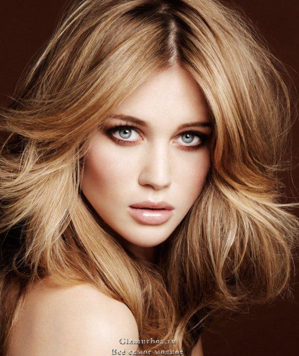 золотистый цвет фото волос