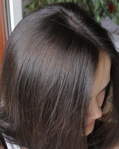 Волосы темно пепельный фото