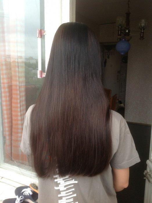 7.71 лонда на волосах