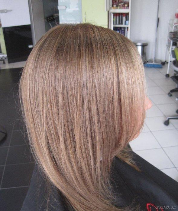 Фото волос оттенок русый цвет