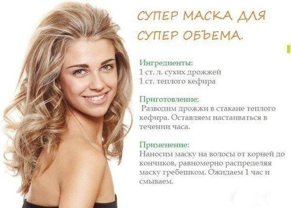 Маска для объема волос