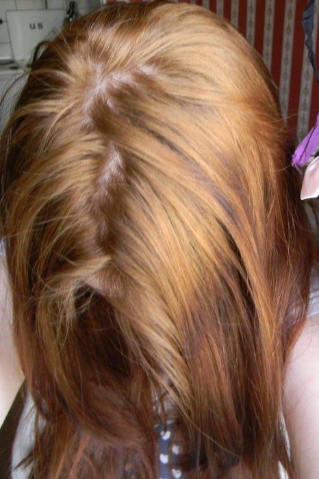 покрасить волосы после смывки в русый