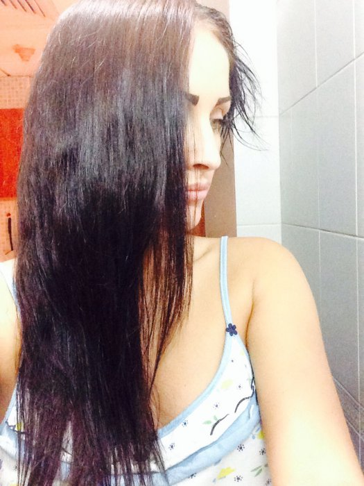 Если черный цвет волос смылся неравномерно