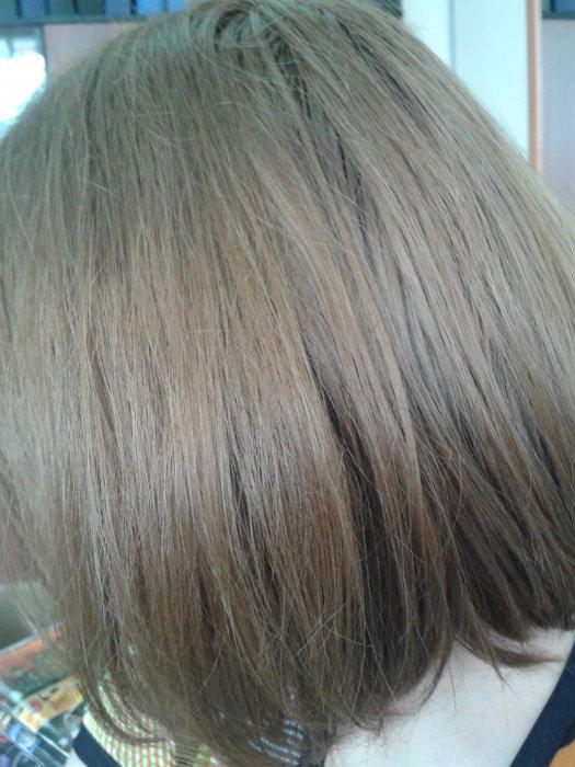 Окрашивание волос из темно русого в блонд