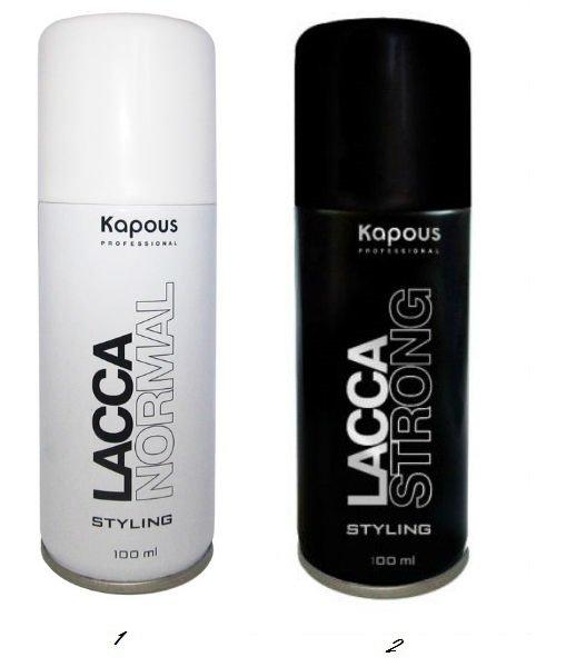 Лак аэрозольный для волос сильной фиксации kapous отзывы