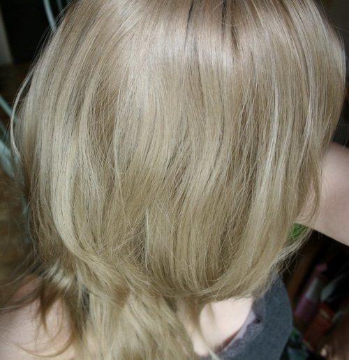 Как закрасить жёлтый цвет волос