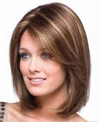 мелирование челки на русые волосы