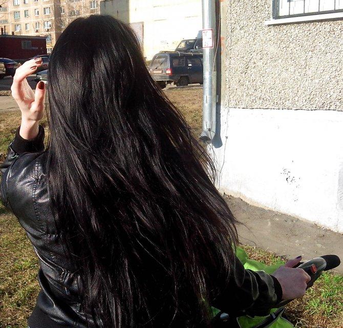 балаяж в холодных тонах на средние волосы