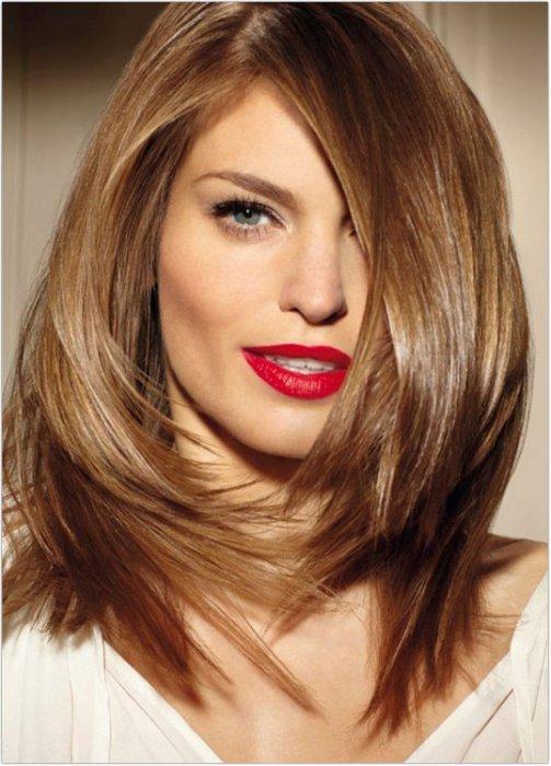как изменить цвет волос на фото
