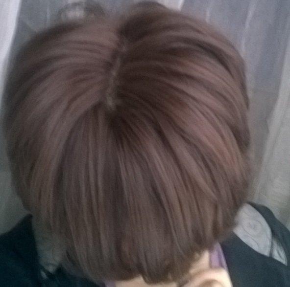 темный холодный оттенок волос