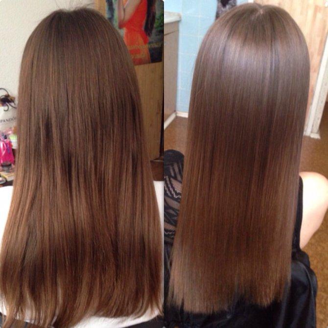 Как осветлить волосы на 1 тон