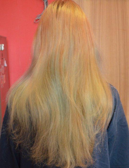 можно ли красить волосы после осветления