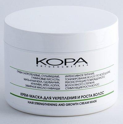 Кора крем-маска для укрепления и роста волос