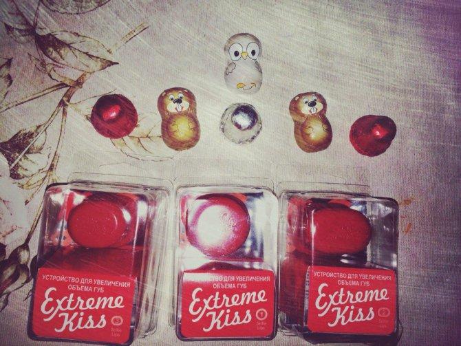 Устройство для увеличения объема губ extreme kiss