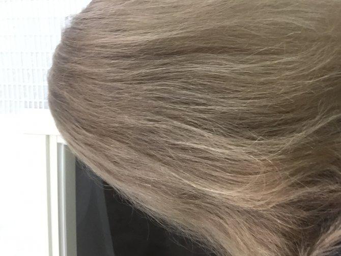 Волосы некрашеные