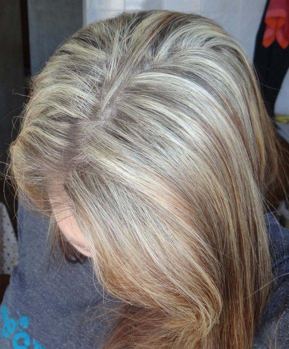 Мелирование на русые волосы пепельным цветом фото