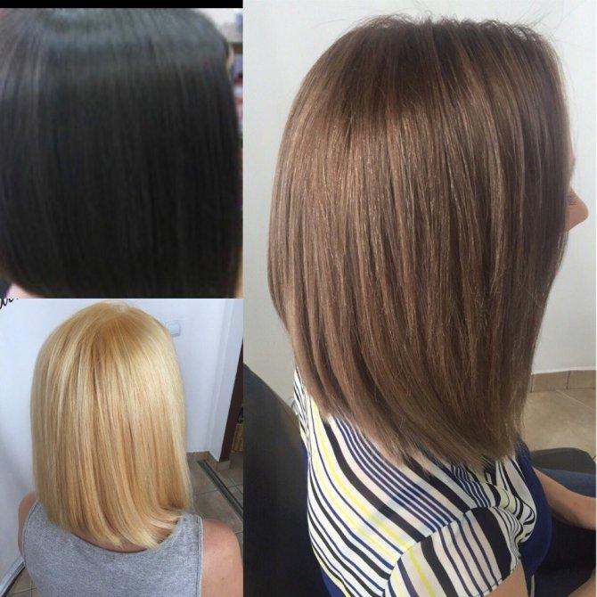 8 уровень цвет волос