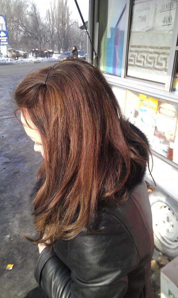 Палисандр цвет волос фото эстель