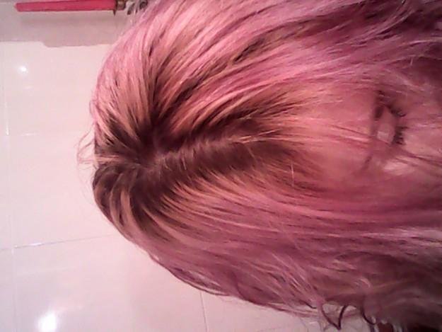 Розовая краска для волос в домашних условиях 224
