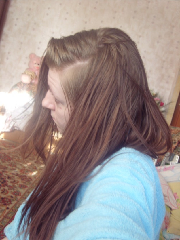 на осветленные волосы светло русый